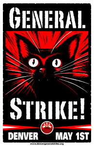 Denver General Strike May 1 poster image