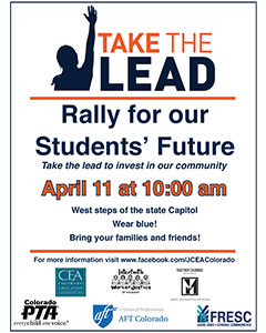 Rally flyer image