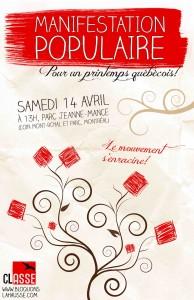 For a Québécois Spring! poster image