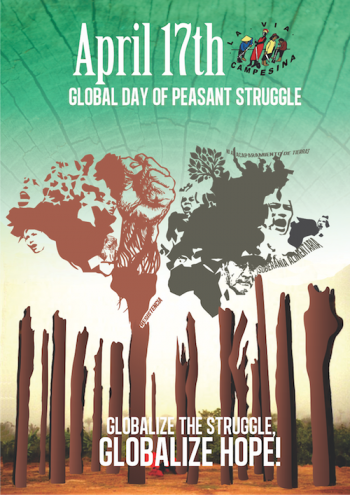 Global Day of Peasant Struggle Poster image
